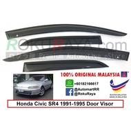 Honda Civic EG SR4 4Door 1991-1995 AG Door Visor(Small 7cm Width)