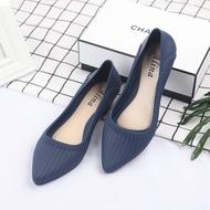 รองเท้าคัชชู หัวแหลมมีส้น1นิ้ว KD14