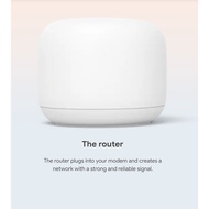 Google Nest WIFI Router (White-SG)-1 Pack Router Only