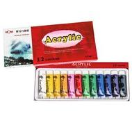 MONA 壓克力顏料 15ml   12色/盒 467-012