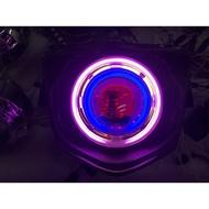 Rs zero 直上遠近魚眼 新燈具 含4光圈 線組 45 hid 整套3500