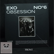 [AIRKIT + PHOTOBOOK ONLY] EXO THE 6TH ALBUM - OBSESSION KIHNO