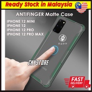 APPLE Iphone 12 Mini / Iphone 12 Pro / 12 Pro Max LIMITED Matte Transparent Antifall Case Cover