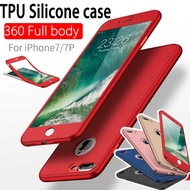 360 degree Full Body case  TPU  silicone case for OPPO R11 R9S Plus A57 A59 iPhone 7 6 Plus case