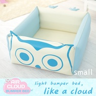 [KOREA HIT]Aircloud Bumperbed Including Foldable Mat / Baby and Toddler Playmat / Playgym / Multi Function Bumper Mat / Mattress Bed /