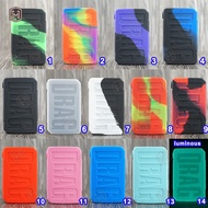 1pcs Hot New arrival Voopoo drag mini 117W Protective Silicone Case Cover 14 colors fast