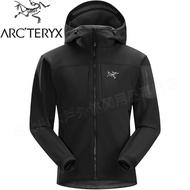Arcteryx 始祖鳥/軟殼衣/連帽軟殼外套 Gamma MX Hoody 19274 男 黑鳥