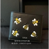 Dior - Homme x KAWS 限量全作款 男款短夾 錢包-專櫃購入