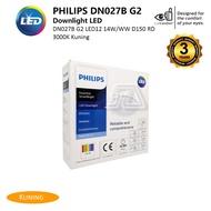 Philips DN027B G2 Led12Ww 14w 220-240V D150 Yellow Downlight
