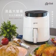 【Arlink】大白學長 健康免油氣炸鍋EB6303(超大液晶面版/1500W大火力)