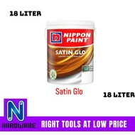 Nippon Paint Satin Glo Interior Wall Paint / Cat Dalam Dinding Rumah 18L- 18 Liter