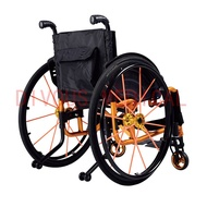 Free Shipping Disabled Persons Aluminum Folding  Lightweight Sport Wheelchair