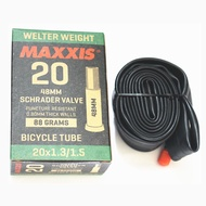Maxxis MAXXIS 20 inch bicycle inner tube small wheel folding bike 20*1.5/1.75/1.95 US and French mouth