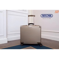 實拍代購RIMOWA 日默瓦行李箱 鋁鎂合金 機長箱 18寸登機箱 拉箱萬向輪