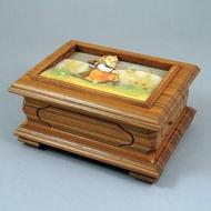 REUGE 36音音樂盒 M.J. Hummel喜姆 手工木雕盒 限量款