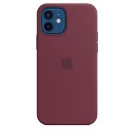 Case iPhone 12 Mini Soft iPhone 12 / 12Pro Original Silicone Case iPhone 12 Pro Max Full Cover - Plum
