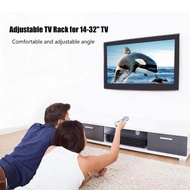 "Adjustable TV Rack Hanger for 14-32"" TV Wall Mount for LG/Samsung/ Whaley/Xiaomi Black"