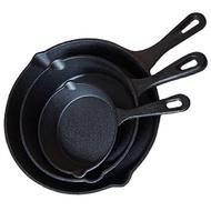Cast Iron Non-Coated Frying Pan/Kuali Leper Besi