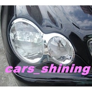cars_shining 全新 賓士 W203 C200 230 240 全車系 大燈框 大燈罩 鍍絡精品