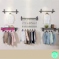 【瑪莎居傢用品】服裝店展示架上牆壁掛式裝飾店鋪衣服架子側掛組合女裝童裝店貨架MASE