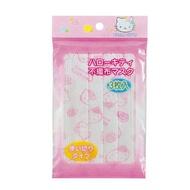日本 Hello Kitty 不織布兒童口罩(3枚入)*夏日微風*