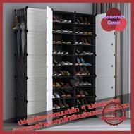 ตู้รองเท้า ตู้จัดเก็บรองเท้า ตู้รองเท้าวัสดุพีวีซี ชั้นวางรองเท้า กันฝุ่น ละอองน้ำ บล๊อกเก็บรองเท้า ราคาพิเศษ Generals Geek