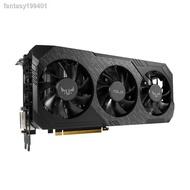 (現貨)♤華碩RX5700 RX5700XT吃雞游戲顯示卡8G獨立顯示卡AMD玩家國度RX5600/5600XT猛禽RO