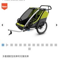 二手 加拿大品牌Thule chariot cab 自行車嬰兒拖車/單人