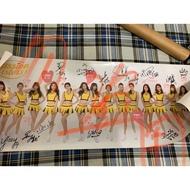簽名版 中信兄弟 女孩日 PS 海報 Passion sisters Brothers 峮峮 短今 希希 波波 松鼠