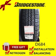 Bridgestone Dueler H/T D684 tyre tayar tire(With Installation)215/65R16 265/65R17