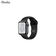 AppleWatch Nike+ Series4 GPS+Cellular, 40mm Space Grey Aluminium Case with Anthracite/Black Nike Sport Band [iStudio by UFicon]