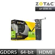 【ZOTAC 索泰】GAMING GeForceR GT 1030 2GB GDDR5 HDMI/VGA Low Profile 顯示卡