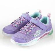SKECHERS POWER PETALS 花瓣燈鞋 淺紫 發光鞋 女童燈鞋 中大童 NO.R4317