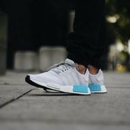 【日本海外代購】Adidas Nmd R1 白藍 天空藍 湖水藍 聖保羅 白面 3M 反光  慢跑鞋 Boost底