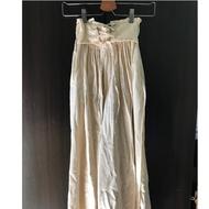 W正韓服飾 麻棉後鬆緊褲 (全新)