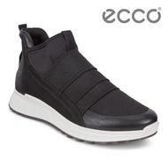【ecco】ST.1 W 輕盈套入式緩震運動休閒鞋 女(黑 83620351052)