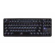 Tecware Phantom TKL สีขาว LED สีฟ้าสลับแป้นพิมพ์เชิงกลสำหรับเล่นเกม