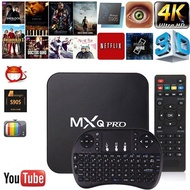 NEW 4K Amlogic S905W MXQ PRO HD 1080P Android 7.1 2G/16G Quad Core Smart TV Box Wifi +2.4G Backlight