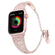 Apple Watch的豪華錶帶Apple Watch的鑽石水鑽錶帶腕帶 82014