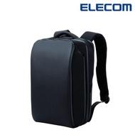 【ELECOM】Ruminant防水拉鍊18口袋USB線高規格後背包-黑(BM-RNBP01BK)