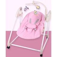 二手 嬰兒 寶寶 電動 搖搖床 搖搖椅 安撫椅 嬰兒床 (附蚊帳)
