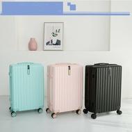 กระเป๋าเดินทางล้อลาก กระเป๋าเดินทาง ขนาด 20/24 นิ้ว แข็งแรงทนทาน วัสดุ ABS ระบบซิปล็อค รหัส 3ตัว ล้อหมุนได้ 360องศา