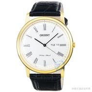 Orient Watch Classic Quartz Belt Watch - Gold/fug 1 R 007 W
