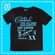Jay Chou Jay 20 Concert Theme Tee Shirt