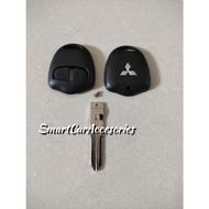 2 Button Remote Key Shell Case Cover For Mitsubishi Pajero Sport