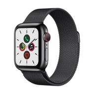 Apple Watch Series 5 GPS+Cellular (40mm Space Black Stainless Steel Case Space Black Milanese Loop Band) สายรัดข้อมืออัจฉริยะ Smart Wristbands  Smart Electronics  Consumer Electronics