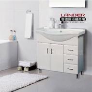 【聯德爾】《BN-900C》海灣型浴櫃90公分(全配/304水龍頭/全銅下水器/P管/304三角凡爾)