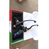 Recent.. Right Brake Master Bl Clasic Classic 1 Tube Plus Handle Left Brembo Domino Brake Clutch Un