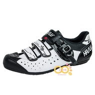 【CoLove咖樂單車】哈卡HASUS硬底自行車鞋/CASUAL/硬底鞋/非卡式自行車鞋/黑白色/HDI008-BLW
