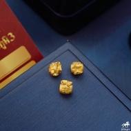 """จี้ถุงทอง """"ฮก"""" หนัก 0.2 กรัม ทองคำ 99.99% สูงประมาณ 7.5 มิล ⛩ ชาร์มปี่เซี๊ยะทองคำแท้..งานฮ่องกง ขายได้ มีใบรับประกัน"""